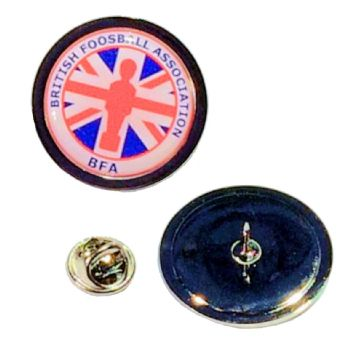 29mm superior silver badge clutch